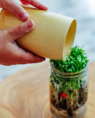 bamboo cup natural